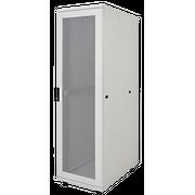 """Шкаф серверный ITK LINEA S LS35-42U81-2PP-1 19"""" 42U 800х1000мм передняя двухстворчатая перф. дверь, задняя перф. серый (комплект 3 коробки часть 1)"""