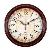Часы настенные Бюрократ WallC-R77P D35см коричневый