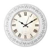 Часы настенные Бюрократ WallC-R73P D35см белый