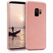 Чехол-накладка J-Case THIN для Samsung S9 розовое золото