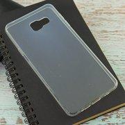 Силиконовая накладка для Samsung Galaxy A7 (SM-A710F) Прозрачный