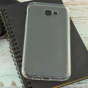Силиконовая накладка для Samsung Galaxy A7 (SM-A720F) Прозрачный
