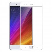 Защитное стекло 2.5D Full Cover+Full Glue для Xiaomi Mi 6 белый тех.пак