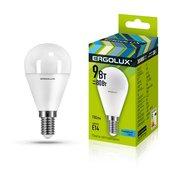 Лампочка светодиодная Ergolux LED-G45-9W-E14-4K