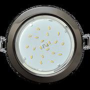 Светильник Ecola FB53H4ECB GX53 H4 без рефл. черный хром