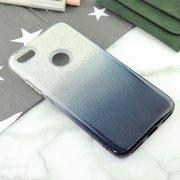 Чехол-накладка для Xiaomi Redmi Note 5А Prime (32 и 64GB), Омбре с блестками (black)
