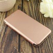 Чехол-книга для Xiaomi Redmi Mi 5S /отдел под пластик.карту,силикон/ розовое золото