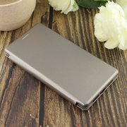 Чехол-книга для Xiaomi Mi8 SE /отдел под пластик.карту,силикон/ серебро