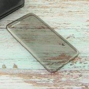Силиконовая накладка для Xiaomi Mi6 Чёрный Прозрачный