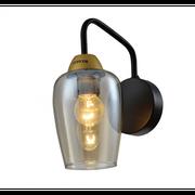 Бра Rivoli 4065-401 Gera A1 Черный/золото