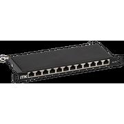"Патч-панель ITK PP12-D05UC5ES-D05-10 0,5U кат.5E STP 12 портов 10"" (Dual IDC)"
