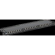 Патч-панель ITK PP24-D05UC5ES-D05H 0,5U кат.5E STP 24 порта экранированная (Dual IDC) высокой плотности