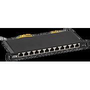 """Патч-панель ITK PP12-D05UC06S-D05-10 0,5U кат.6 STP 12 портов 10"""" (Dual IDC)"""