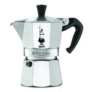 Кофеварка Bialetti Moka Express 0.12л алюминий серебристый (1162)