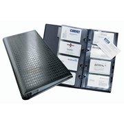 Визитница переносная Durable Visifix 2403-01 (200 визиток) вклад.:25шт. черный