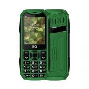 Мобильный телефон BQ BQM-2430 Tank Power зеленый/серебро