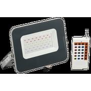 Прожектор Iek LPDO7RGB-01-30-K03 СДО 07-30RGB multicolor IP65 серый