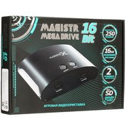 Игровая приставка SEGA Magistr Mega Drive (250 встроенных игр, microSD) ConSkDn100 16 bit (MX250)
