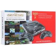 Игровая приставка SEGA Retro Genesis Modern + 300 игр + 2 джойстика [ConSkDn92]