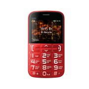 Мобильный телефон BQ BQM-2441 Comfort черный/красный