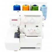 Оверлок Janome HQ-090D белый