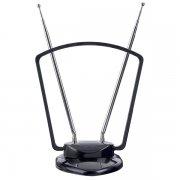 Антенна ТВ Perfeo Gate (PF-A4211) активная, встр. усилитель, питание от TV или ресивера 5V, DVB-T2