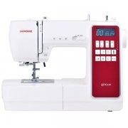 Швейная машина Janome QDC620 белый/красный