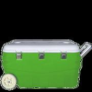 Автохолодильник Арктика 2000-80 80л зеленый/белый