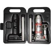 Домкрат Matrix 50750 бутылочный, 2т, H подъема 181-345 мм