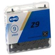 "Цепь KMC Z9 1 2""x11 128"" 116 звеньев с замком CL566R для 9 скор. кассет в инд.уп 570108"