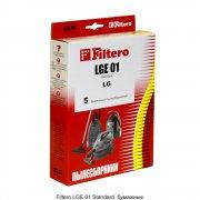 Мешки для пылесоса Filtero LGE 01 Standard (5 шт) LG, Cameron, Clatronic, Scarlett, Polar, Evgo