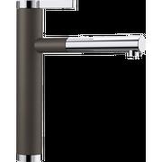 Смеситель Blanco 518445 Linee-S хром/кофе (выдвижной шланг)