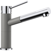 Смеситель Blanco 515326 Alta-S Compact хром/алюметаллик (выдвижной шланг)