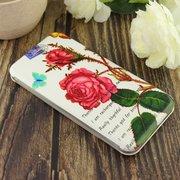 Чехол-книга для Xiaomi Mi-5X/Mi-A1 /отдел под пластик.карту,силикон/ rose