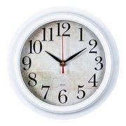 Часы настенные Бюрократ WALLC-R80P D21см белый