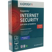 ПО Kaspersky Internet Security Multi-Device, 5 ПК/1 год. Лицензия, DVD, Box/коробка (KL1941RBEFS)