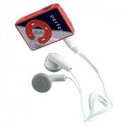 Цифровой аудио плеер Perfeo Music Clip Color, красный (VI-M003 Red)