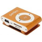 Цифровой аудио плеер Perfeo Music Clip Titanium, оранжевый (VI-M001 Orange)