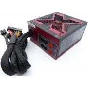 Блок питания Aerocool Strike-X 800 80+ silver ATX 800W (24+8+4+4pin) APFC 140mm fan 8xSata Cab Manag RTL