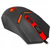 Мышь Redragon Nemeanlion 2 Black&Red, USB, 7 кн., 7200 dpi, подсветка, оптическая