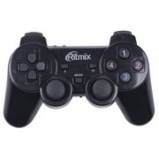 Геймпад Ritmix GP-020WPS, Wireless, 17 кнопок, вибрация, PC, PS3