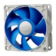 Вентилятор 80 мм Deepcool UF80, 4-pin, Ф81x26mm, 900-2200rpm, 17.8-24.7dBA, 25.13 CFM, BB (ball bearing), 111 гр.