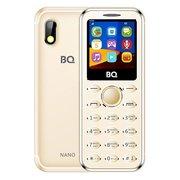 Мобильный телефон BQ BQM-1411 Nano золотистый (без ЗУ)