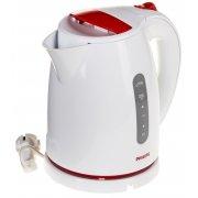 Чайник Philips HD4646/40 белый/красный