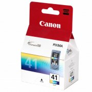 Картридж CANON CL-41 (0617B025) для принтеров Pixma MP450/PM170/PM150/iP6220D/iP6210D/iP2200/iP1600 Цветной 315 страниц