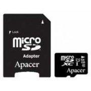 Карта памяти Apacer microSDXC 64GB UHS-I Class 10 + adapter (AP64GMCSX10U1-R)