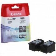 Набор картриджей Canon PG-510 and CL-511 для MP230/280/480/490/492 MX320/420 Pixma iP2700 (2970B010)