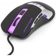 Мышь Gembird MG-520 Gamer, USB, 6 кн., 3200 dpi, 1000 Гц, подсветка, ПО для создания макросов