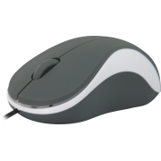 Мышь Defender Accura MS-970 Gray&White, USB, 3 кн.,1000dpi
