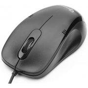 Мышь Gembird MOP-100 Black, USB, 1000 dpi, кабель: 1,4 м